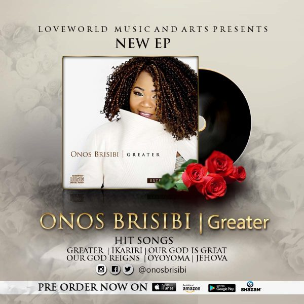 Onos Brisibi- 'Greater Ep
