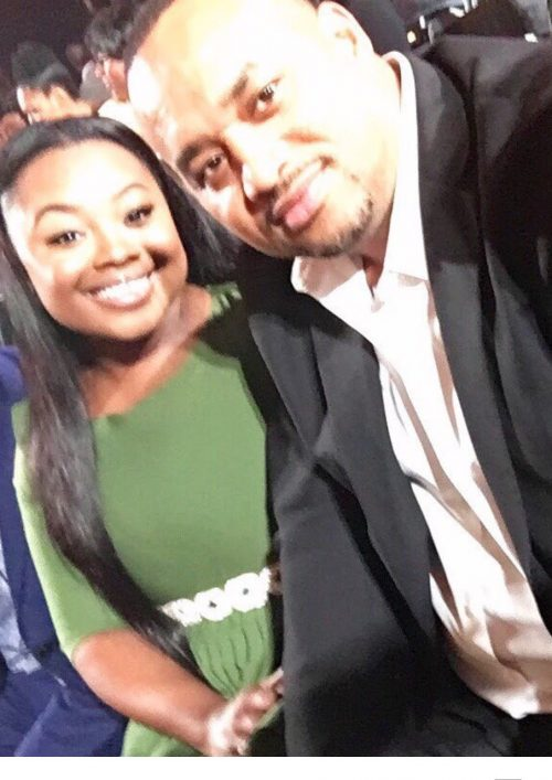 Jekalyn Carr and Dad